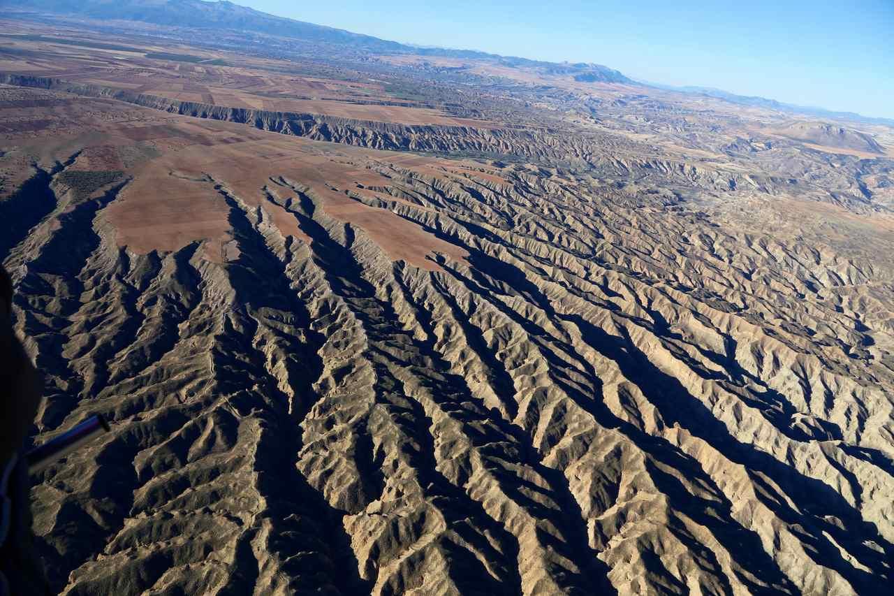 Propriété écologique dans un paysage semi-désertique